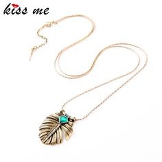 Fashion Elegance OL Style Alloy Leaf Inlay Imitation Emerald Long Pendant Necklace Like and Share if you want thisVisit our store --->  http://www.servjewelry.com/product/kiss-me-fashion-elegance-ol-style-alloy-leaf-inlay-imitation-emerald-long-pendant-necklace-factory-wholesale/ #shop #beauty #Woman's fashion #Products #homemade
