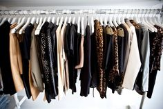 ♥ The contents of this closet