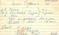 Vintage recipe site; heaps of luscious comfort foods!