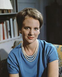 Margrethe II of Denmark - Wikipedia, the free encyclopedia-1966- Today's Queen of Denmark.
