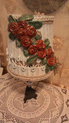 Lampa Art N Craft, Diy Projects To Try, Wicker Baskets, Kos, Crafts, Home Decor, Xmas, Homemade Home Decor, Crafting