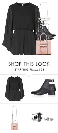 """Untitled #1254"" by she-is-wearing-this ❤ liked on Polyvore featuring Topshop, Rebecca Minkoff and Monica Vinader"