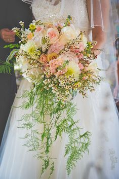 Bohemian Wedding Bouquets That Are Totally Chic ❤ See more: http://www.weddingforward.com/bohemian-wedding-bouquets/ #weddings