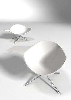 Lotus chair by Dutch designer René Holten, for Artifort.