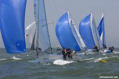 Le Normandy Sailing Week se déroulera du 10 au 14 juin 2015, au large du Havre. (Photo : Jean-Marie Liot/NSW 2014)