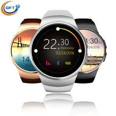 GFT kw18 Neueste Bluetooth Smart Uhr Mit Sim-karte Smartwatch Für Apple Samsung mann business stil mit pulsmesser //Price: $US $78.29 & FREE Shipping //     #clknetwork
