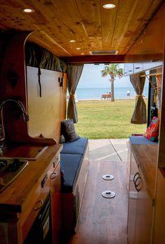 Van Conversion Murphy Bed, Sprinter Conversion, Van Conversion Interior, Camper Van Conversion Diy, Converted Vans, Mobile Living, Van Home, Boat Projects, Campervan Interior