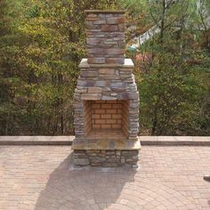 Outdoor Fireplace Kits For Sale. Outdoor Fireplace Kits, Outside Fireplace, Backyard Fireplace, Small Fireplace, Backyard Patio, Outdoor Fireplaces, Fireplace Ideas, Brick Fireplace, Outdoor Stair Kits