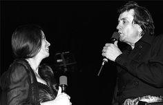 Johnny Cash, June Carter Cash, The Ritz Theatre, Elizabeth, New Jersey, 1981 Young Johnny Cash, Johnny Cash June Carter, Johnny And June, Elizabeth New Jersey, Morrison Hotel, Longest Marriage, Matchbox Twenty, Country Music Singers, Blake Shelton