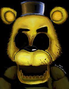 Five nights at Freddy's: Golden Freddy by ArticErik on deviantART