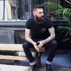 Double tap if you think that haircut is unreal! | #gentlemenstrend #haircut #beard