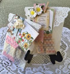 Today for Cut At Home , I've made some adorable goodie/treat bags. Who doesn't like to receive chocolate in a a. Small Paper Bags, Treat Bags, Junk Journal, Favors, Paper Crafts, Gift Wrapping, Packaging, Ephemera, Tutorials