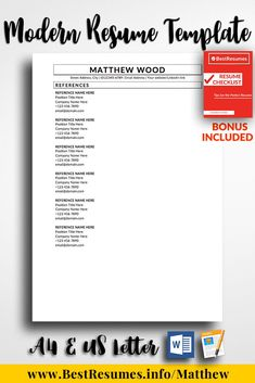 Should A Resume Include References 14 Best Resume References Images On Pinterest  Page Layout Resume .