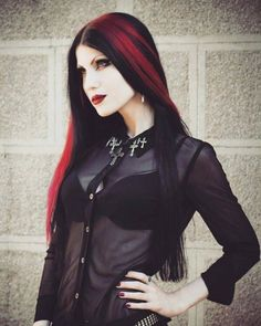Gothic Model Tamara Simic