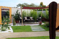 Modern garden photos by conceptuelles paysage et decoration i homify