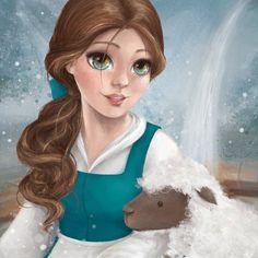 Belle by GenevieveViel on DeviantArt