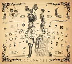 The Parlour Trick Musical Spirit Board by Bethalynne Bajema
