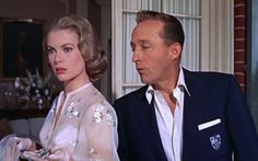 Grace Kelly and Bing Crosby in High Society