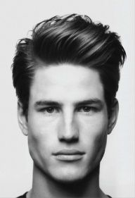 Stylish and Casual Modern Pompadour Mens Hairstyles Short Sides Long Top 2014 fo Mens Medium Length Hairstyles, Hairstyles Haircuts, Haircuts For Men, Modern Haircuts, Wedding Hairstyles, Trendy Haircuts, Funky Hairstyles, Formal Hairstyles, Short Haircuts