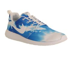Nike Roshe Run Santa Monica Blue Sky Print Exclusive - Unisex Sports want these so much