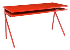 I think I would actually work at this desk | Blu Dot - Desk 51 DE1-DESK51 at 2Modern