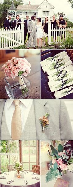 Some favorite ideas I came across when planning my daughters wedding.