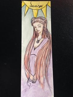 Handmade  Sansa Stark Bookmark di LovemadeShop su Etsy