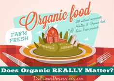 Does Organic REALLY Matter? Yes and No and let me tell you why. Many people ask if organic food really matters to their health. There are several things to consider.