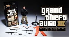 Grand theft auto 3 10th anniversary limited