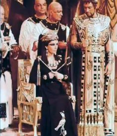 Deleted scene from the 6 hour version of Cleopatra 1963