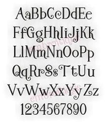 Janda Stylish Monogram Font This Coordinates With My