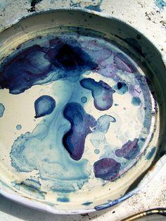 JESSE BREYTENBACH| #so65 #nel blu dipinto di blu (Vat of indigo dye)