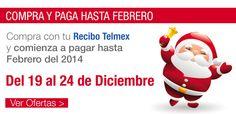 Compra hoy y comienza a pagar hasta Febrero 2014 con tu Recibo Telmex en Decompras.com