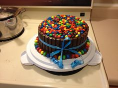 This Is My Husbands Birthday Cake That I Made Him It Was First Time