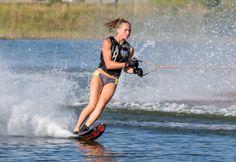 Water Ski, X Games, Skiing, River, Explore, Jacket, History, Bikinis, Sports