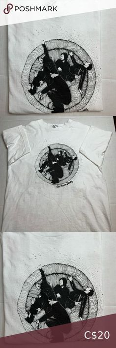 The Boom Booms concert Tee Shirt Cool looking shirt of the indie band THE BOOM BOOMS. Size Men's Medium. Tops Tees - Short Sleeve Levis T Shirt, Janet Jackson Concert, Boys T Shirts, Tee Shirts, American Eagle Tops, Concert Tees, Vintage Floral, Black Nikes, T Shirts