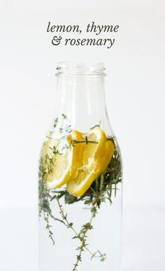 5 fruit & herb infused water recipes to try right now.