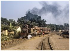South India, Steam Locomotive, India Travel, Trains, British, Asian, Explore, Portrait, Photography