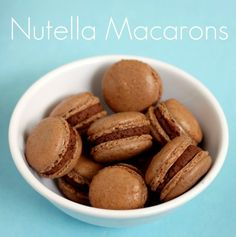 chocolate macarons with nutella mousse by 52 kitchen adventures