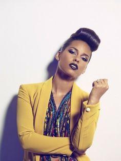 Alicia Keys in Christie Brown