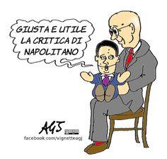 Renzi accetta le critiche di Napolitano