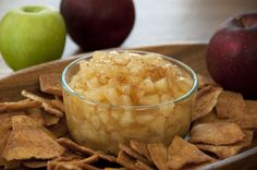 Fresh Apple Pie Dip | Wishes and Dishes