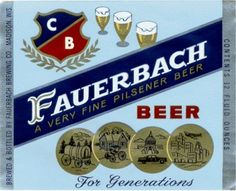 Fauerbach Brewery Labels