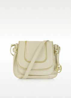 43393f07d288 Michael Kors Naomi Vanilla Leather Shoulder Bag  298.00 Actual transaction  amount