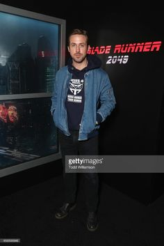 Actor Ryan Gosling during photo call for Alcon Entertainment's sci fi thriller BLADE RUNNER 2049 in association Columbia Pictures, domestic distribution by Warner Bros. Pictures and international distribution by Sony Pictures Releasing International at Caesars Palace during CinemaCon 2017, the official convention of the National Association of Theatre Owners, on March 27, 2017 in Las Vegas, Nevada.