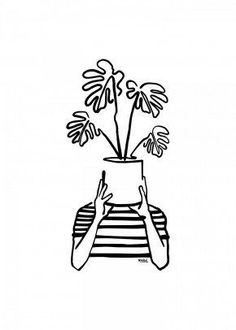 plants drawing , Container Gardening / plants indoor plants aesthetic plants outdoor plants in living room house plants plants photography plants drawing plants i art garden indoor plants Plant Sketches, Art Drawings Sketches, Easy Drawings, Tattoo Drawings, Mini Drawings, Tattoo Sketches, Pencil Drawings, Arte Sharpie, Kalender Design