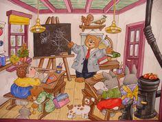 In der Schule...  von Christl Vogl