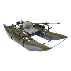 "Classic Accessories ""Colorado XT"" inflatable pontoon boat"