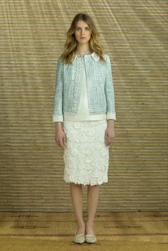 Tory Burch Resort 2014 Fashion Show - Julia Frauche