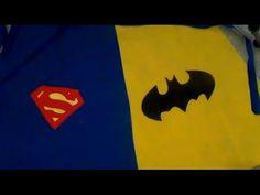 Плащ для Супергероев своими руками за один час - YouTube